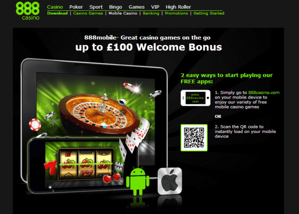 Casino on net 888