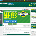 Paddy Power HomePage