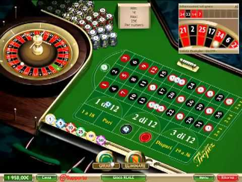 Winning Strategy for Online Roulette
