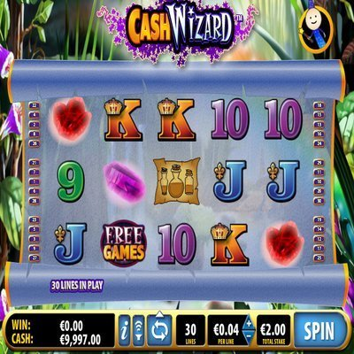 Cash wizard slot machine online free play