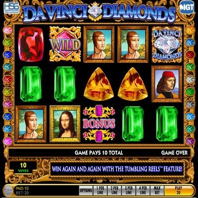 Secrets of Da Vinci Slot - Play for Free Online Today