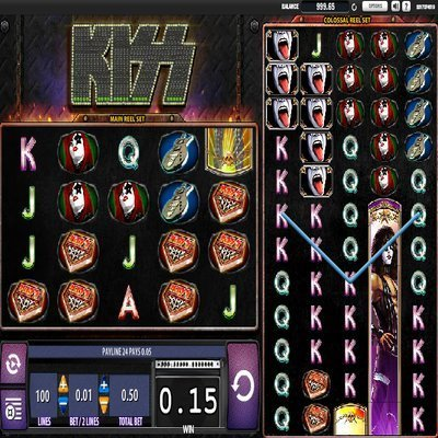 kiss slot machine online