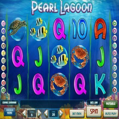Pearl Lagoon Slot Machine - Play Slots Games Online for Free