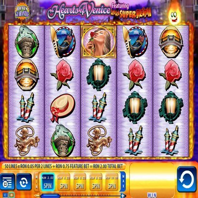 Hearts of Venice Slot Machine - Play Slots Online for Free