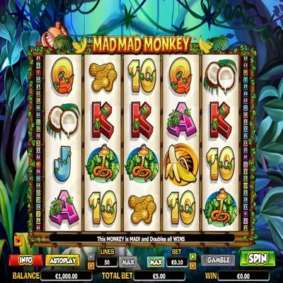 Mad Mad Monkey slot - have mad fun at Casumo