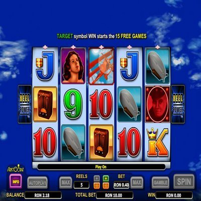 Red Baron Slot Game - Aristocrat Red Baron Slot Machine Free