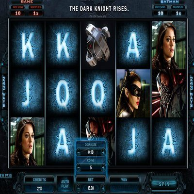The Dark Knight Rises Slots - Play for Free Online