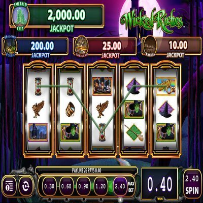 Wicked Witch Slot Machine - Play Online Video Slots for Free