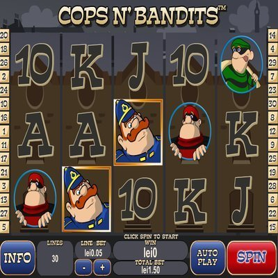 Cops N Bandits Slots - Play Playtechs Cops and Bandits Free Here!