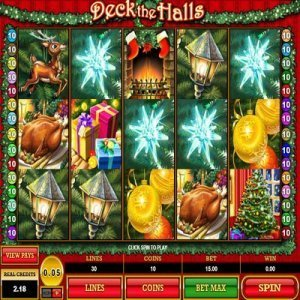deck_the_halls_slot_machine