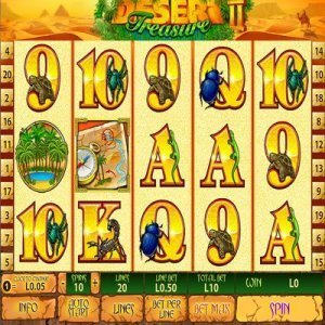desert_treasure_ii_slot_machine