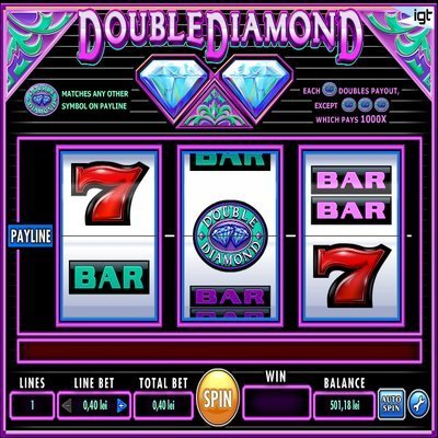 Double Diamond™ Slot Machine Game to Play Free in IGTs Online Casinos