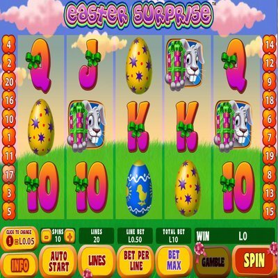 Easter Suprise Slot Machine - Play for Free Online Today