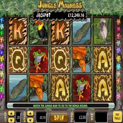 Midfield Madness Slot Machine - Play this Video Slot Online