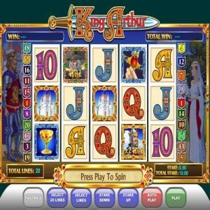 king_arthur_slot_machine
