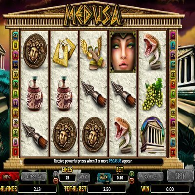 Medusa II™ Slot Machine Game to Play Free in NextGen Gamings Online Casinos