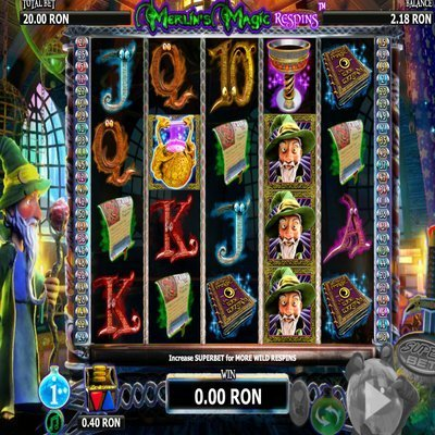 Merlins Magic™ Slot Machine Game to Play Free in NextGen Gamings Online Casinos