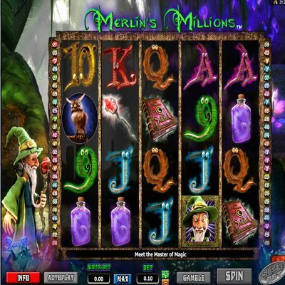 Merlins Millions Slot Game - Play Online Slots for Free