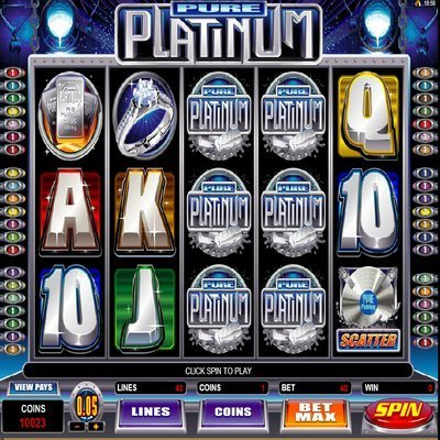 Pure Platinum™ Slot Machine Game to Play Free in Microgamings Online Casinos