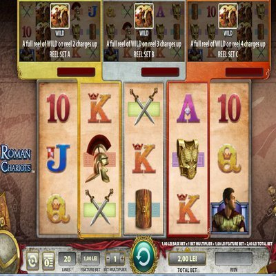 Roman Chariots Slot Machine - Play in your Browser for Free
