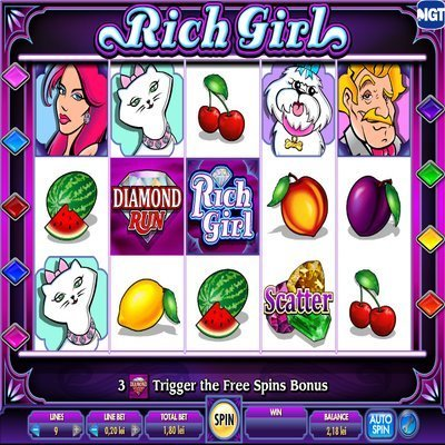 Shes a Rich Girl Slots - Free Slot Machine from VSO