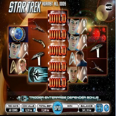 Star Trek Against All Odds Slot – Free to Play Game by IGT