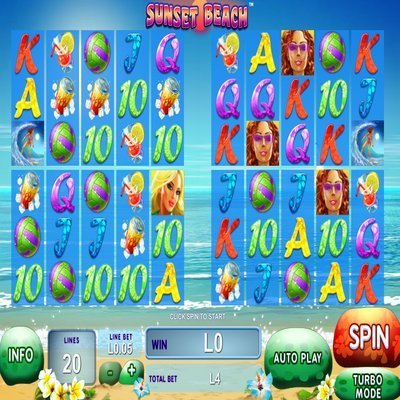 Sunset Beach Slot Machine Online ᐈ Playtech™ Casino Slots
