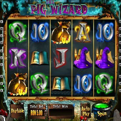 Harry Trotter: The Pig Wizard™ Slot Machine Game to Play Free in BluePrint Gamings Online Casinos