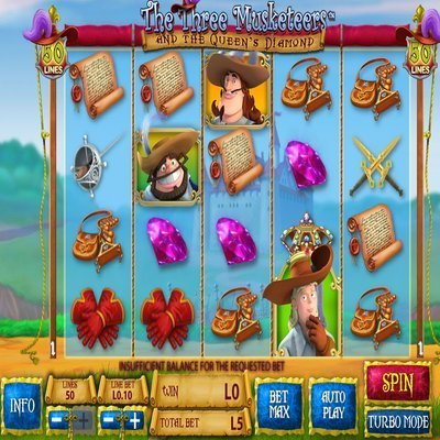 The Three Musketeers Slots - Play Now for Free Online