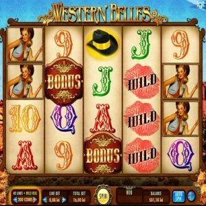 western_belles_slot_machine