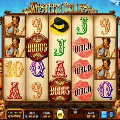 Western Belles Slot Review - Play it Free Now