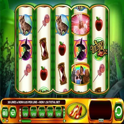 ruby slippers slot machine