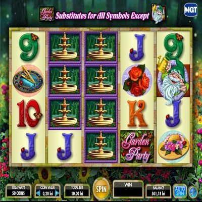 Garden Party™ Slot Machine Game to Play Free in IGTs Online Casinos