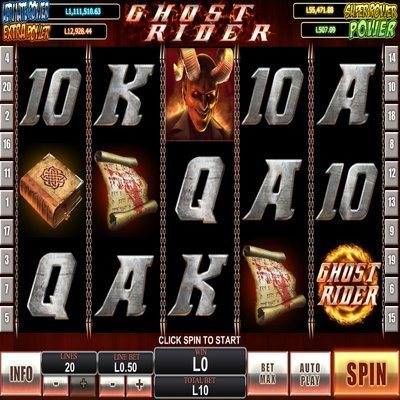 Ghost Rider™ Slot Machine Game to Play Free in Cryptologics Online Casinos