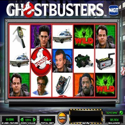 ghostbusters slot machine free play