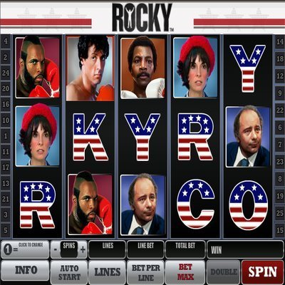 slot machine gratis rocky
