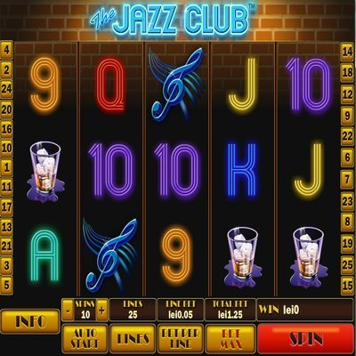 The Jazz Club Slots - Play Playtech Slots Online for Free