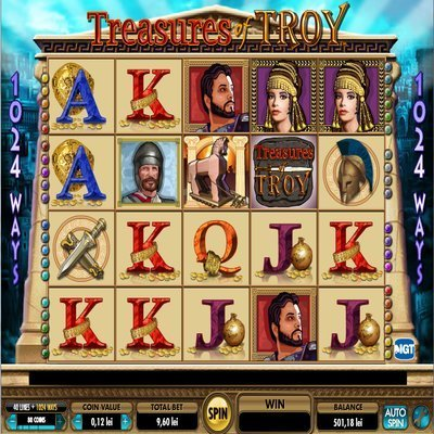 Treasures of Troy™ Slot Machine Game to Play Free in IGTs Online Casinos